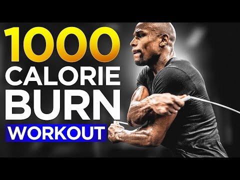 Floyd Mayweather 1000 Calorie Burn Jump Rope Workout