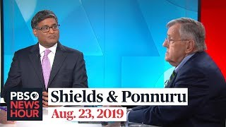 Mark Shields and Ramesh Ponnuru on Trump's trade war and Biden's lead