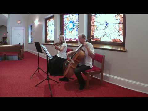 Clair de lune from Suite bergamasque (Debussy) - String Duo Dallas