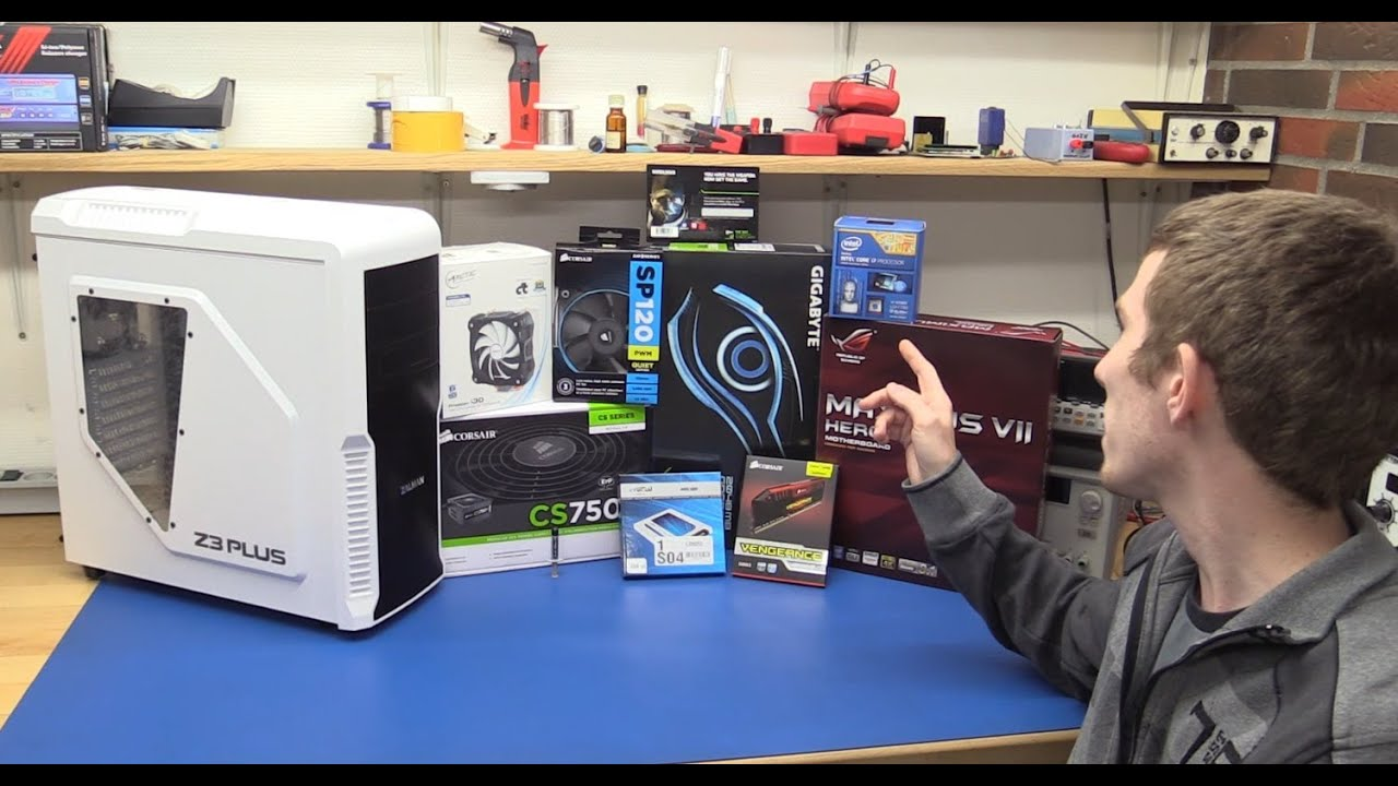 How To Assemble A Pc - 2014 Guide / Tutorial - Ec-Projects ...