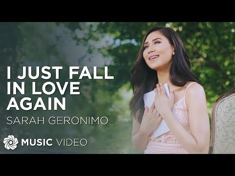Sarah Geronimo  I Just Fall In Love Again  Movie Theme Song