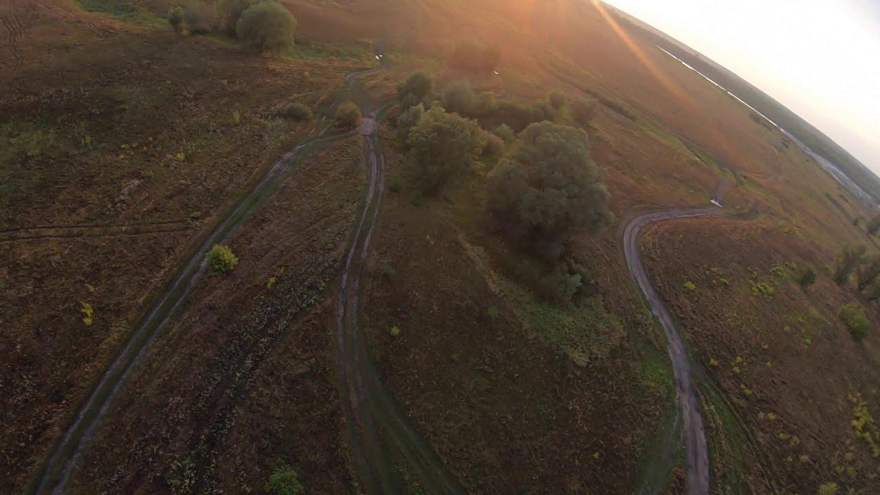 Словили закат на FPV дрон! Летаем на FPV дроне с GOPRO картинки