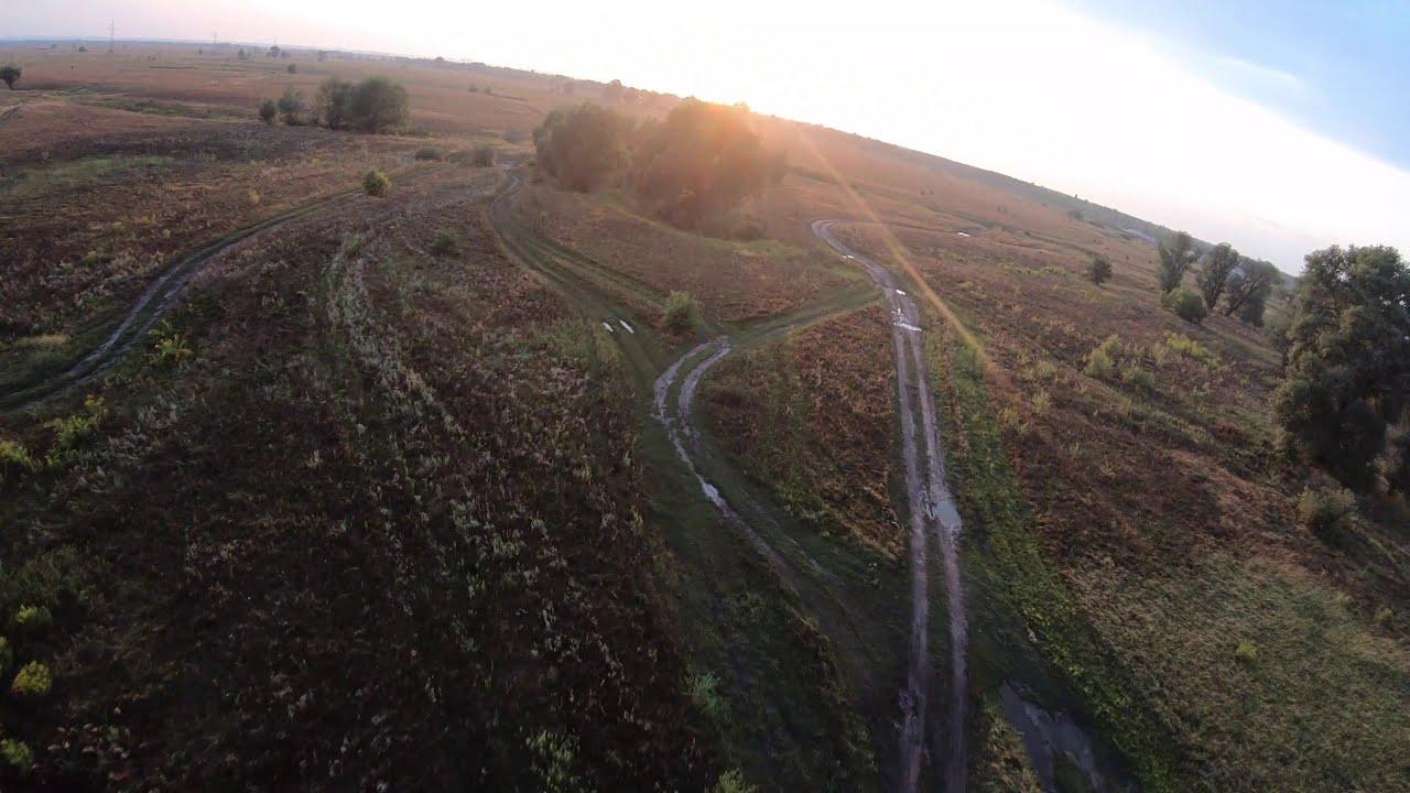Словили закат на FPV дрон! Летаем на FPV дроне с GOPRO фото
