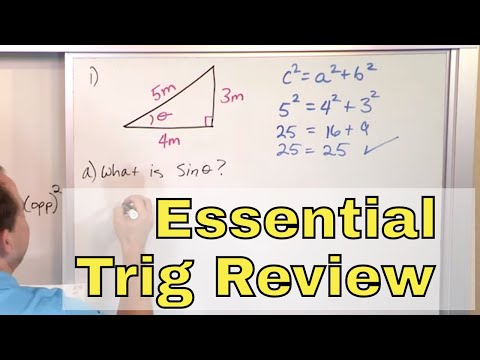 06 - Review of Essential Trigonometry (Sin, Cos, Tangent - Trig Identities & Functions)