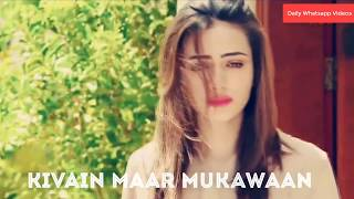 New Sad Whatsapp Status ¦ Khaani ¦ whatsapp status 30 seconds ¦ Har pal geo