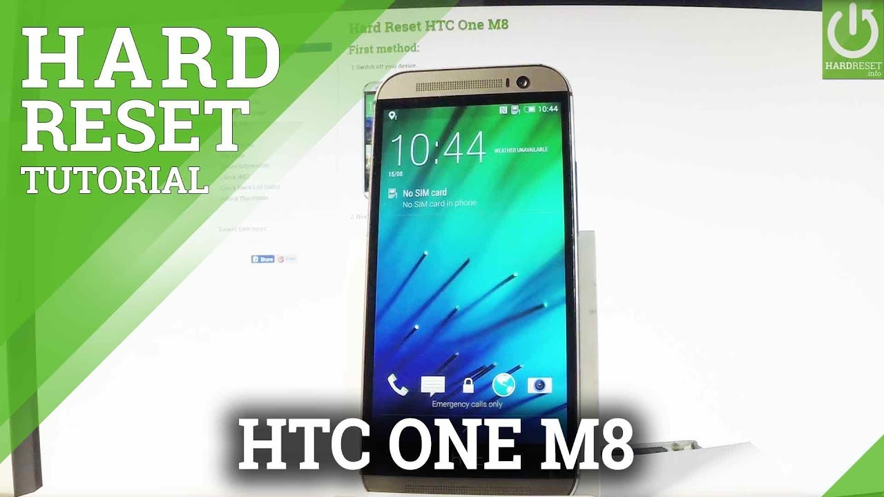 Hard Reset HTC One M8 - HardReset info