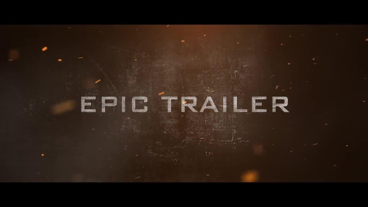 Epic Trailer Premiere Pro Templates