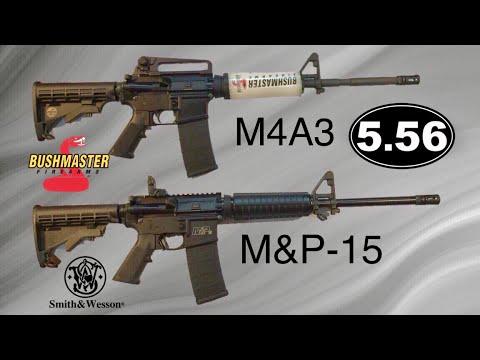 Bushmaster M4A3 VS Smith & Wesson MP-15