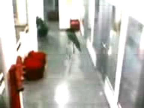 A Ghost Caught On Camera In Infosis Bangalore India Youtube