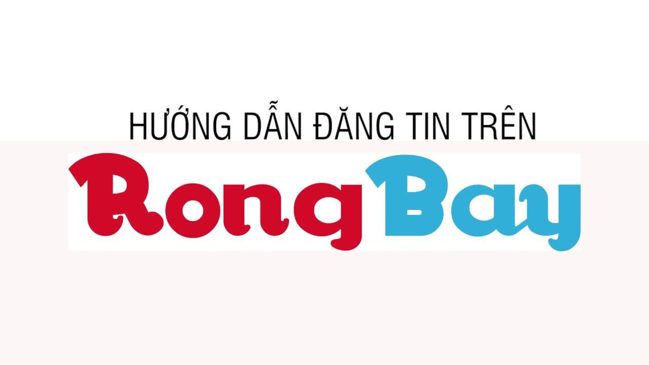 Hướng dẫn đăng tin trên Rongbay.com