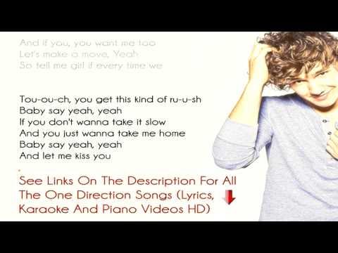 [Lyrics] One Direction - Kiss You -1D - [Lyrics On Screen] HD