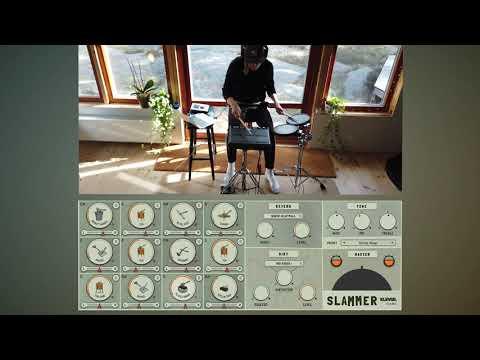 Slammer Live drumming demo