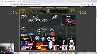 Топ 10 Марки Автомобили по Държави - Интерактивен Урок