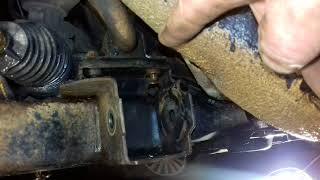 Замена втулок стабілізатора на опель зафіра(1)