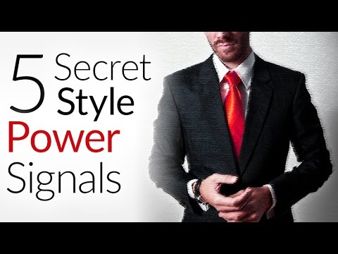 5 Secret Style Power & Strength Signals | How To Appear MORE Powerful Through Clothing