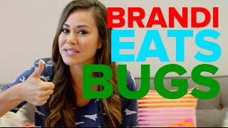 Brandi Eats Bugs From the Boxtrolls Food Truck!