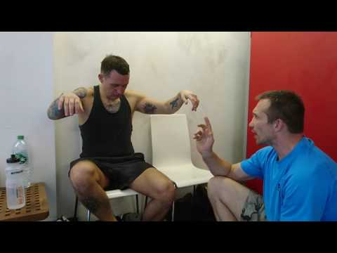 Pre-fight short hypnosis session for Joe, just to help maintain his already great mental state
