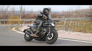 Harley-Davidson Fat Bob 107 Softail 2018 teszt 4K - Onroad.hu
