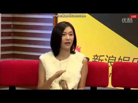 141105 (2/5) KRIS WU YIFAN & Xu Jingle Sina Guest Interview