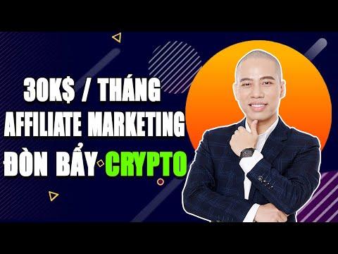Kiếm tiền Online 30k$ với Affiliate Marketing và Đòn Bẩy Crypto