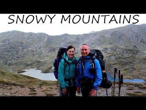 Hiking Australia's 10 highest mountains on the Snowy Mountains Kosciuszko Main Range Circuit