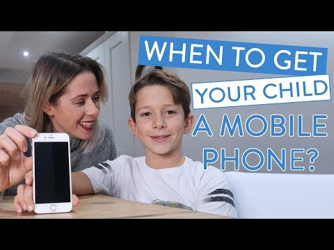 Is Your Child Ready For Their First Mobile Phone? | Ad