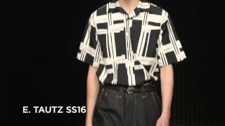 E. Tautz SS16 at London Collections Men