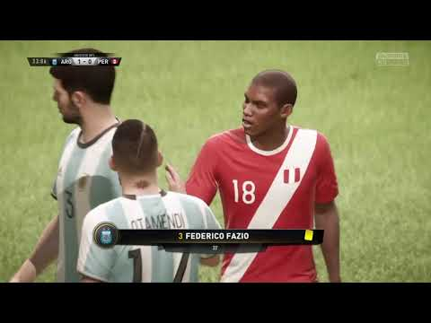 Argentina vs Perú FIFA 18