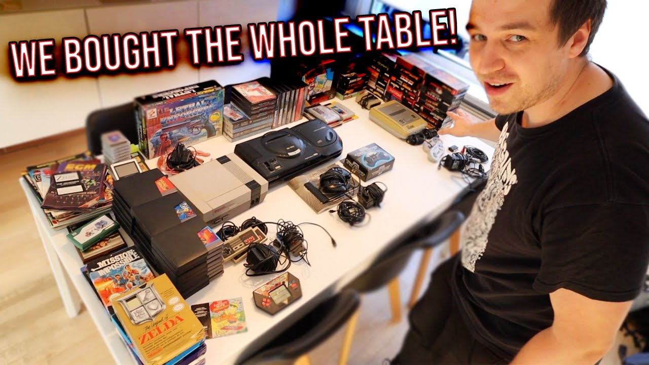Huge Retro Game Haul! Nintendo SNES, NES, SEGA, Genesis, Sega CD Retro Hunting Live!