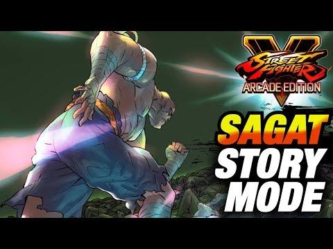 SFV AE * SAGAT Story Mode