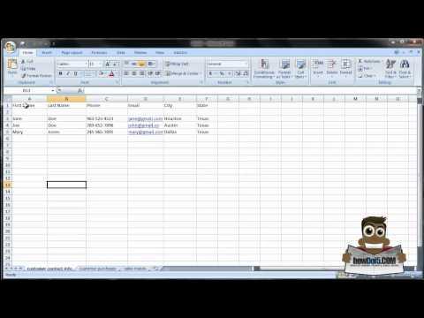 How do I use Microsoft Excel? [CRASH COURSE PT. 1]