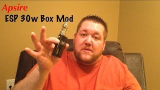 Aspire ESP 30 watt Box Mod