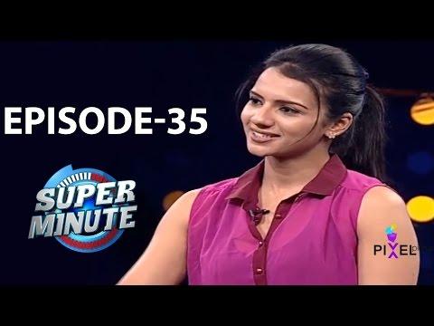 Super Minute Episode 35 - Shruthi Hariharan & Sreeshanth