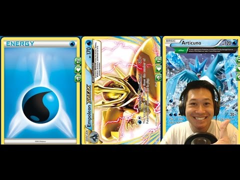 New Standard Empoleon BREAK Water Toolbox Deck, EXTRA Prize Cards and Ex Immunity