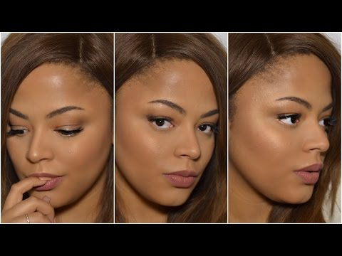 TUTORIAL| Full Coverage Highlight Contour Foundation Routine