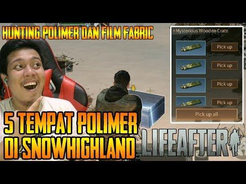 Tips LIFEAFTER   5 Tempat Polimer Dan Film Fabric Di SnowHighland   Life After PART 20