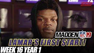 Madden NFL 19 Franchise | LAMAR