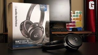 Video First Look! Audio Technica ATH-ANC50iS QuietPoint 50 REVIEW! download MP3, 3GP, MP4, WEBM, AVI, FLV Juli 2018