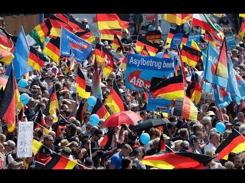 LAUTSTARKER AUFMARSCH So demonstriert die Rechtspopulisten von der AfD in Berlin