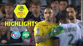 Rc strasbourg alsace - as saint-etienne ( 0-1 ) - highlights - (rcsa - asse) / 2017-18