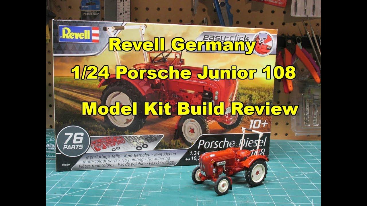 Revell Germany 1/24 Porsche Junior 108 Model Kit Build Review 07820 85-4485