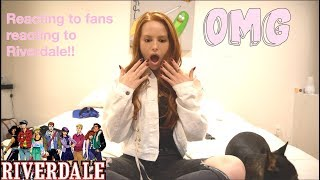 A VERY SPECIAL VIDEO: REACTING TO FANS REACTING TO RIVERDALE
