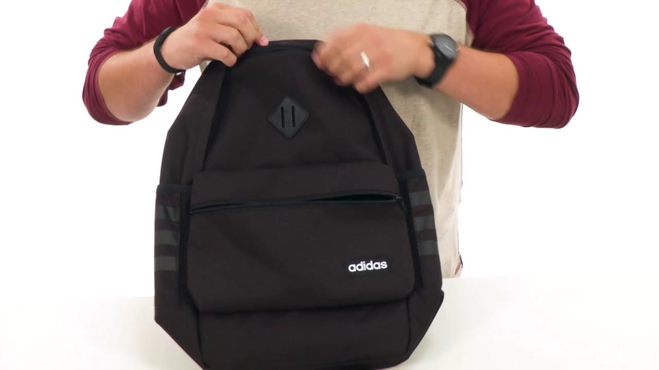 b493e9569bd6d adidas Classic 3S Backpack SKU 8880948 - YouTube