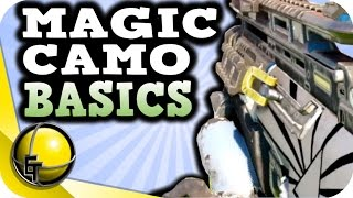 MAGIC / COLOR CHANGING CAMO - Black Ops 3 - Tutorial BASICS