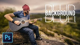 3 Simple Steps to Blur Background in Photoshop screenshot 1