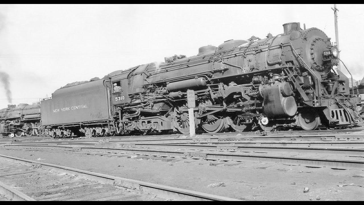 New York Central Hudson Steam Locomotive Youtube