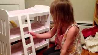 American Girl Triple Bunk Bed