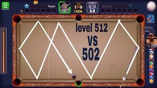 8ball pool indirect highlights vs 502 level abdallah  vs 513 fernando Berlin platz
