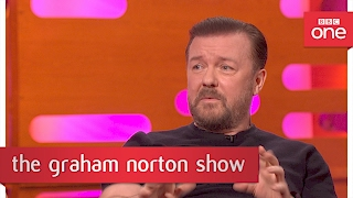 Ricky Gervais' snakeskin story - The Graham Norton Show: 2017 Preview - BBC One