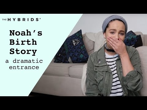 Labor & Delivery Story of Noah's Dramatic Entrance